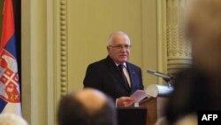 Predsednik Češke drži predavanje u Srpskoj akademiji nauka i umetnosti