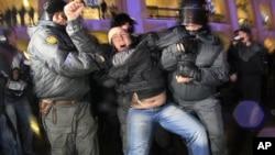 Συλλαλητήριο στη Μόσχα κατά Πούτιν