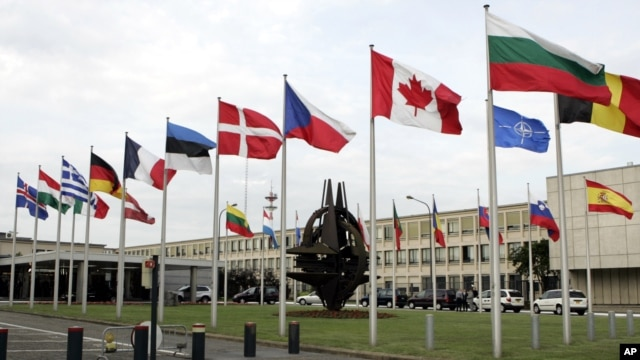 NATO headquarters in Brussels, Belgium (file photo)