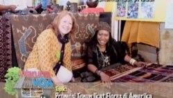 Promosi Tenun Ikat Flores Alfonsa (Bagian 1) - Warung VOA 12 September 2011