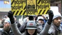 占领华尔街抗议大型企业