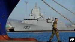 12月14日﹐挪威一艘船隻停靠在塞浦路斯一個港口﹐準備到敘利亞將化學武器運送前往意大利。