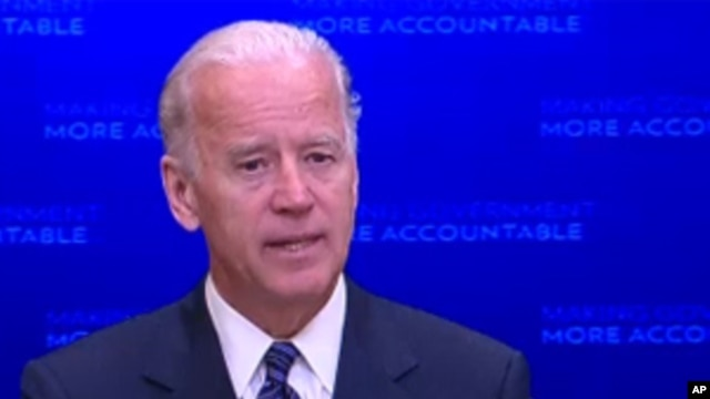 U.S. Vice President Joe Biden will meet with a bipartisan committee of lawmakers to work on a plan for reducing the nation's budget deficit, (File)