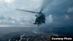 美國海軍2016年11月17日在南中國海活動(美國海軍照片)