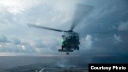 美国海军2016年11月17日在南中国海活动 (美国海军照片)