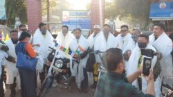 Three days Bike rally to strengthen and maintain India's support