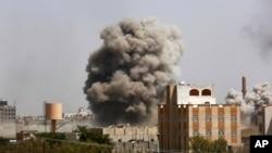 Harin jiragen sama akan Aden kasar Yemen