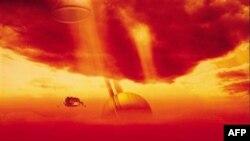 Ученые разгадали загадку облака в форме стрелы над поверхностью спутника Сатурна