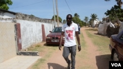 Tijan Barrow was arrested in Gambia for printing #Gambiahasdecided t-shirts.