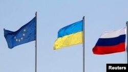 Alên Rûsya, Ukrayna û Yekîtîya Ewrupa