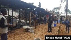 Un centre de traitement d'Ebola à Itav, Butembo, Nord-Kivu, 28 février 2019. (VOA/Ericas Mwisi)