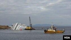 En el crucero Costa Concordia viajaban 4.229 personas cuando ocurrió la tragedia.