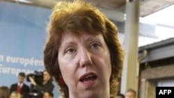 Người phụ trách chính sách đối ngoại của EU Catherine Ashton