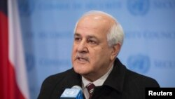 Filistin'in BM Daimi Gözlemcisi Riyad Mansur