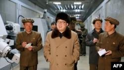 朝鲜领导人金正恩(资料照片)