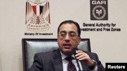 Le Premier ministre égyptien, Mostafa Madbouly, le 8 décembre 2015. Photo d'Archives