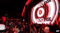 La fiesta inaugural de la nueva cadena, MundoFox, tuvo lugar en Los Ángeles, California.