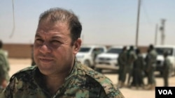 مصطفی بالی سخنگوی نیروهای دموکراتیک سوریه - آرشیو