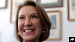 Carlie Fiorina es la única mujer entre los 17 candidatos a la nominación presidencial por el Partido Republicano.