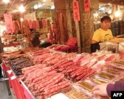香肠腊肉是传统年菜