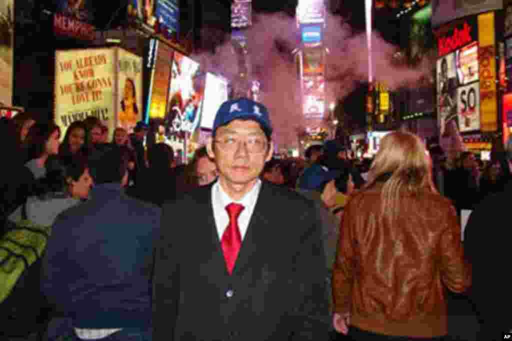 中国民主党全国委员会秘书长傅申奇