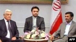 Белорусский спикер встретился с президентом Ирана