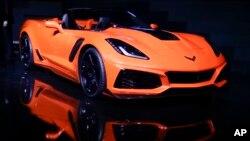 Archivo - Chevrolet Corvette ZR1 2019