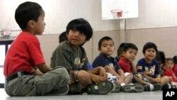 Los niños blancos se convirtirían en minoría tan pronto como el 2018.