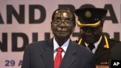 Tổng thống Zimbabwe Robert Mugabe.