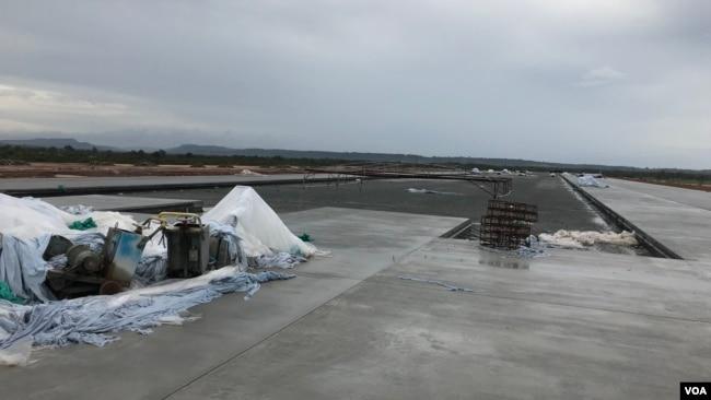 Trung Quốc đang xây Phi trường quốc tế Dara Sakor ở Tỉnh Koh Kong.