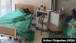 FILE: Some women recovering at a hospital following fistula operations.