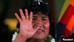 Tổng thống Bolivia Evo Morales.