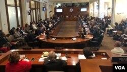 La reunión de la OEA buscará presentar un nuevo proyecto de resolución dirigido a Nicaragua. (Foto Archivo).