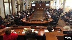 La OEA aprobó una resolución que llama al presidente de Nicaragua, Daniel Ortega, a trabajar con la oposición pra fijar fecha de elecciones anticipadas.