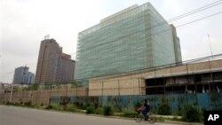 美国驻华使馆大楼(资料照片)