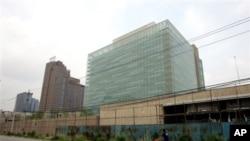 美國駐華使館大樓(資料照片)