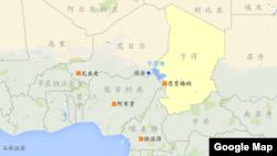 尼日尔地理位置