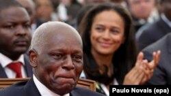 Isabel dos Santos revelou conversa com o antigo Presidente (foto de arquivo) sobre o arresto dos bens