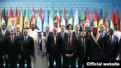 Recep Tayyip Erdoğan İslam İşbirliği Teşkilatı toplantısında konuştu