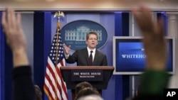 白宫发言人卡尼(资料照片)