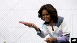 Michelle Obama li Çînê