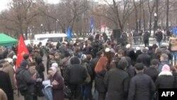 Болотная площадь. Москва. 8 января 2012 г.
