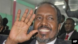 索马里新总统哈桑•谢赫•马哈茂德