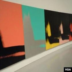 Andy Warhol Sjene u muzeju Hirshorn u Washingtonu