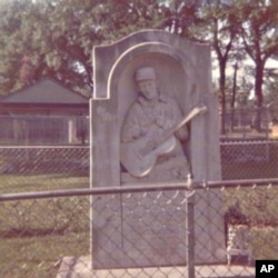 There's a very humble memorial to Jimmie Rodgers in his hometown.