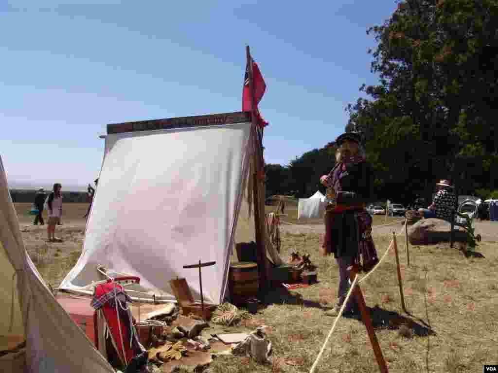 В Форте Росс проходят мероприятия, посвящённые годовщине основания этой русской крепости, бывшей в начале XIX века аванпостом России в Калифорнии.