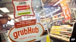 Presidente de la empresa Grubhub asegura que su compañía no discrimina en base a creencias políticas.