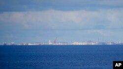 Một đảo nhân tạo của Trung Quốc ở Biển Đông.