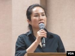 台湾无党籍立委高金素梅