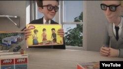 Lego animasyon filminden bir kare